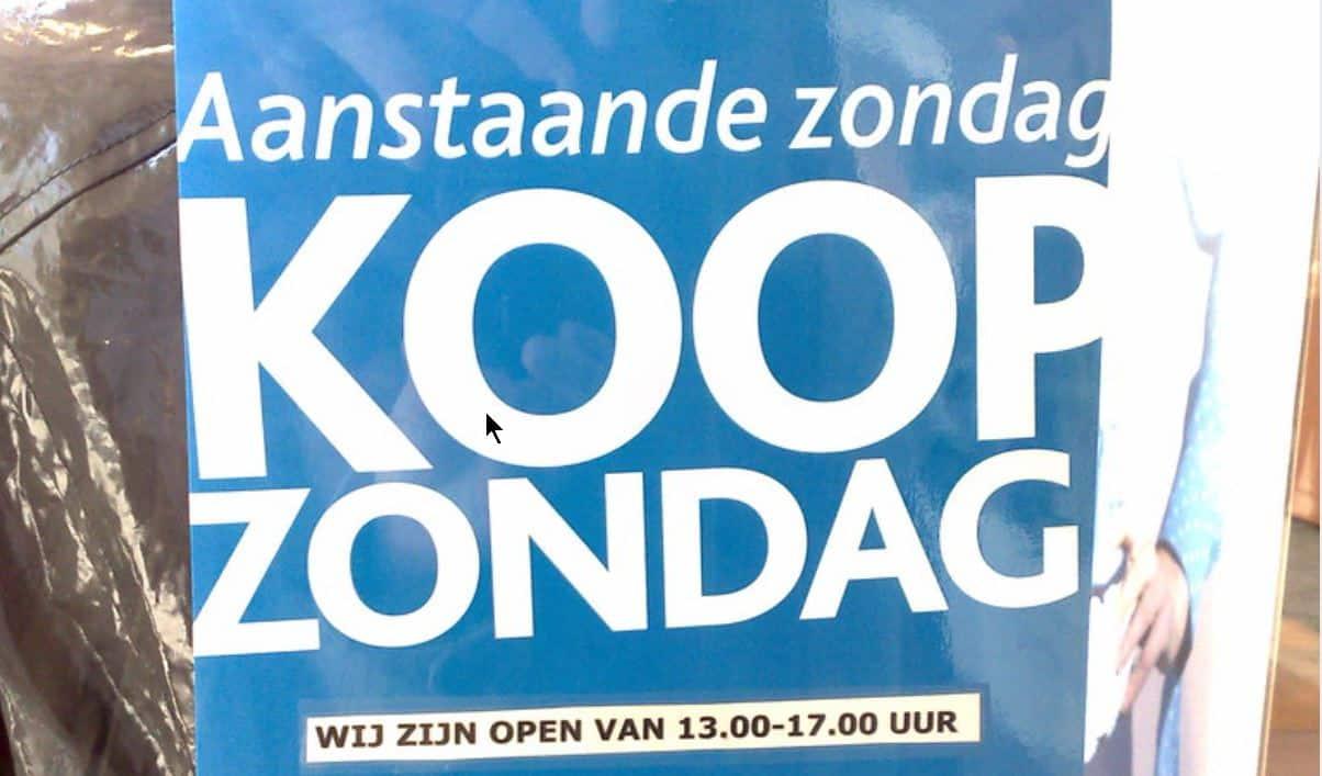 Actie GroenLinks tegen loting zondagopenstelling supers