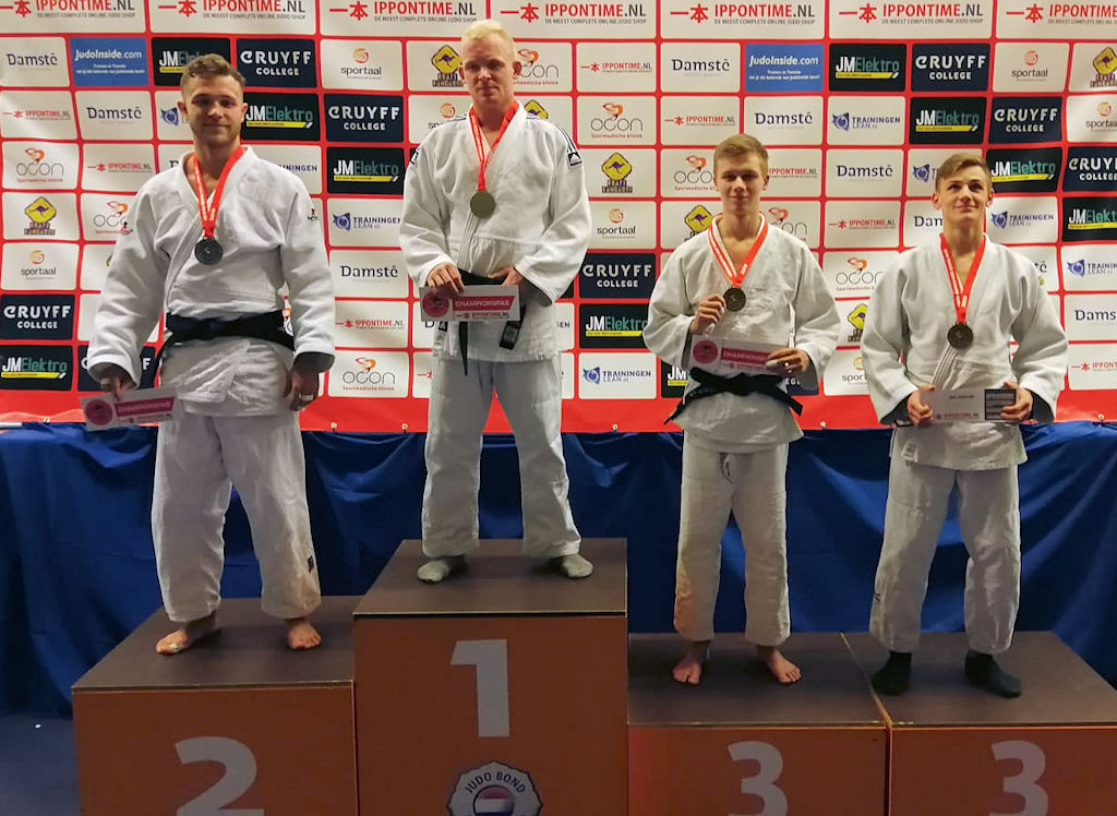 Brons en zilver voor judoka's Sportschool Goederaad