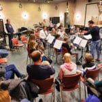 Een gezellige open repetitie van OBK Driebruggen
