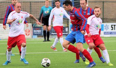 CVC Reeuwijk en Gouda blijven steken op 1-1