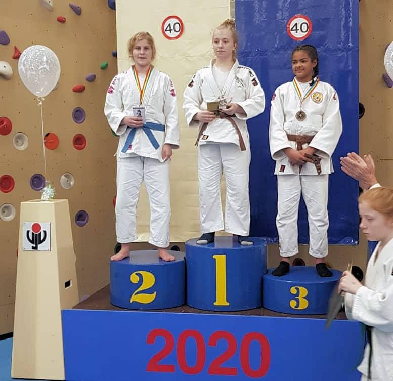 Judoka's Goederaad vallen in de prijzen