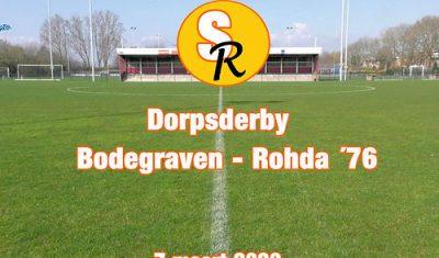 Sport Report met beelden van de dorpsderby Bodegraven-Rohda '76 (video)