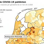 Drie nieuw positief geteste inwoners Bodegraven-Reeuwijk
