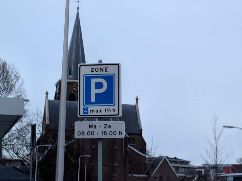 Parkeerduur in parkeerschijfzone Bodegraven verlengd naar 2 uur