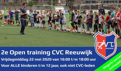 Tweede Open Training bij CVC Reeuwijk