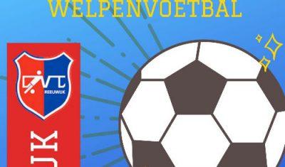 CVC Reeuwijk start welpenvoetbal voor allerjongsten