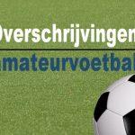Overschrijvingen amateurvoetbal