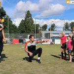 Leerzame korfbalclinic bij CKV Reeuwijk