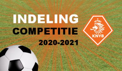 Indeling competitie amateurvoetbal