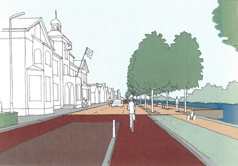 Ruimte voor fietsers en dorpse uitstraling bij plan Raadhuisweg