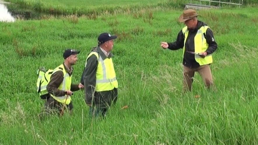 Dijkwachten inspecteerden droge dijken