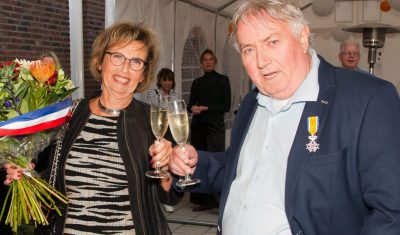 Jan de Jong krijgt Koninklijke onderscheiding