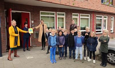 SEEF-verkeersveiligheidslabel voor de PWA-school in Waarder