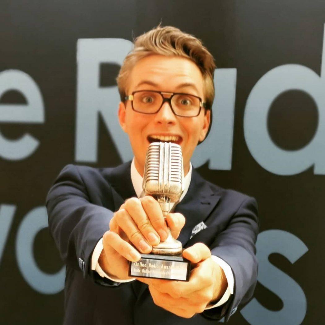 Bastiaan Meijer beste Online Presentator 2020
