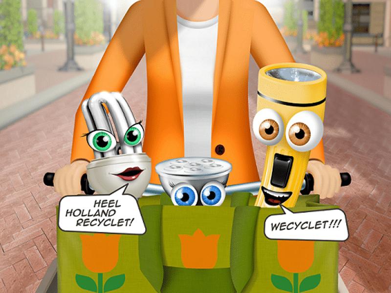 Bodegraven-Reeuwijk recyclet e-waste met kans op gratis puzzel bij de milieustraat