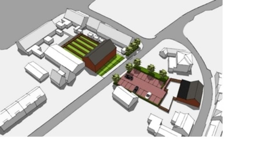 """""""Blij met woningbouw op voormalige bedrijfslocatie in Nieuwerbrug"""""""