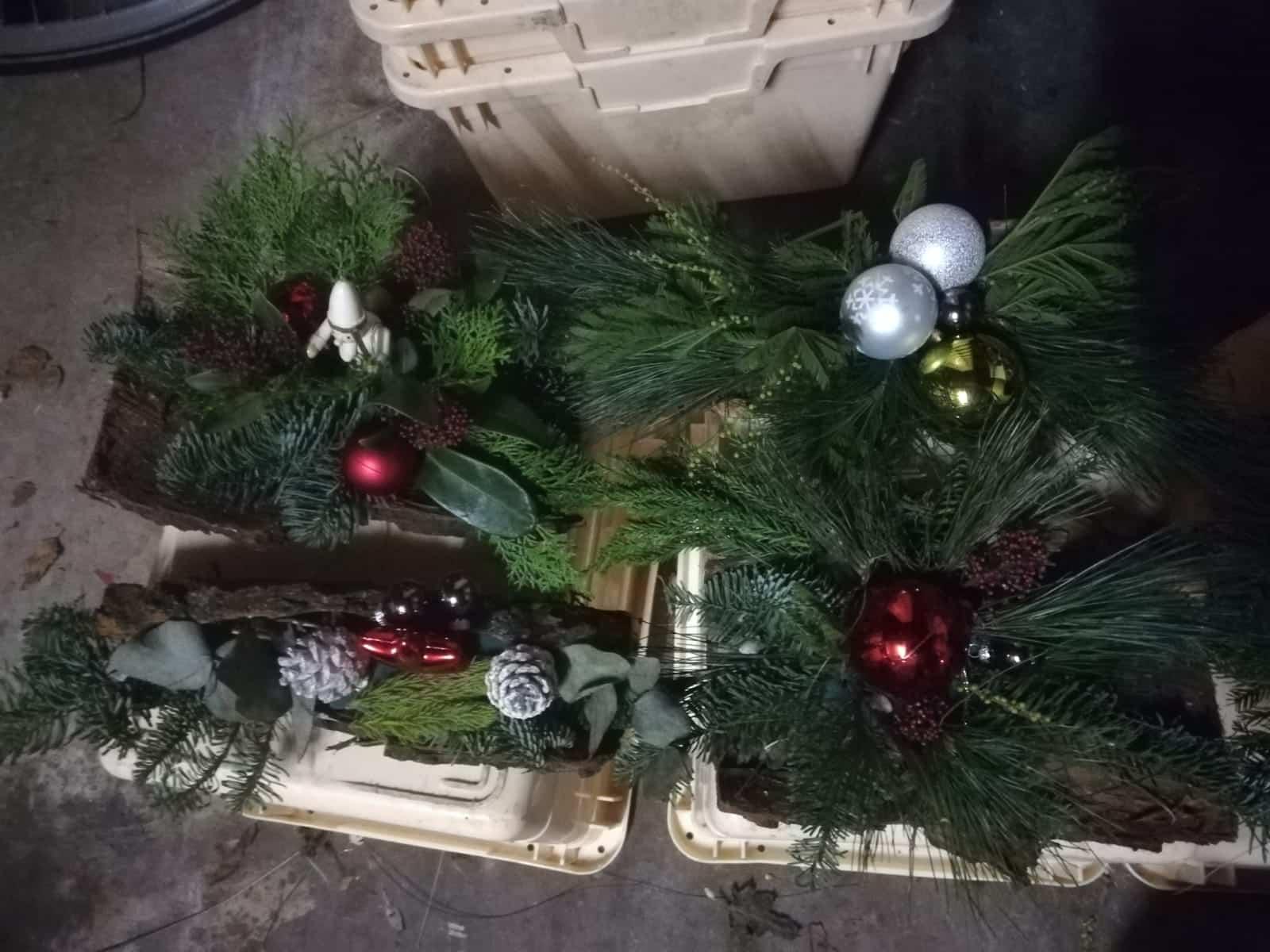 Kerststukjes voor eenzame bewoners Reeuwijk-Dorp