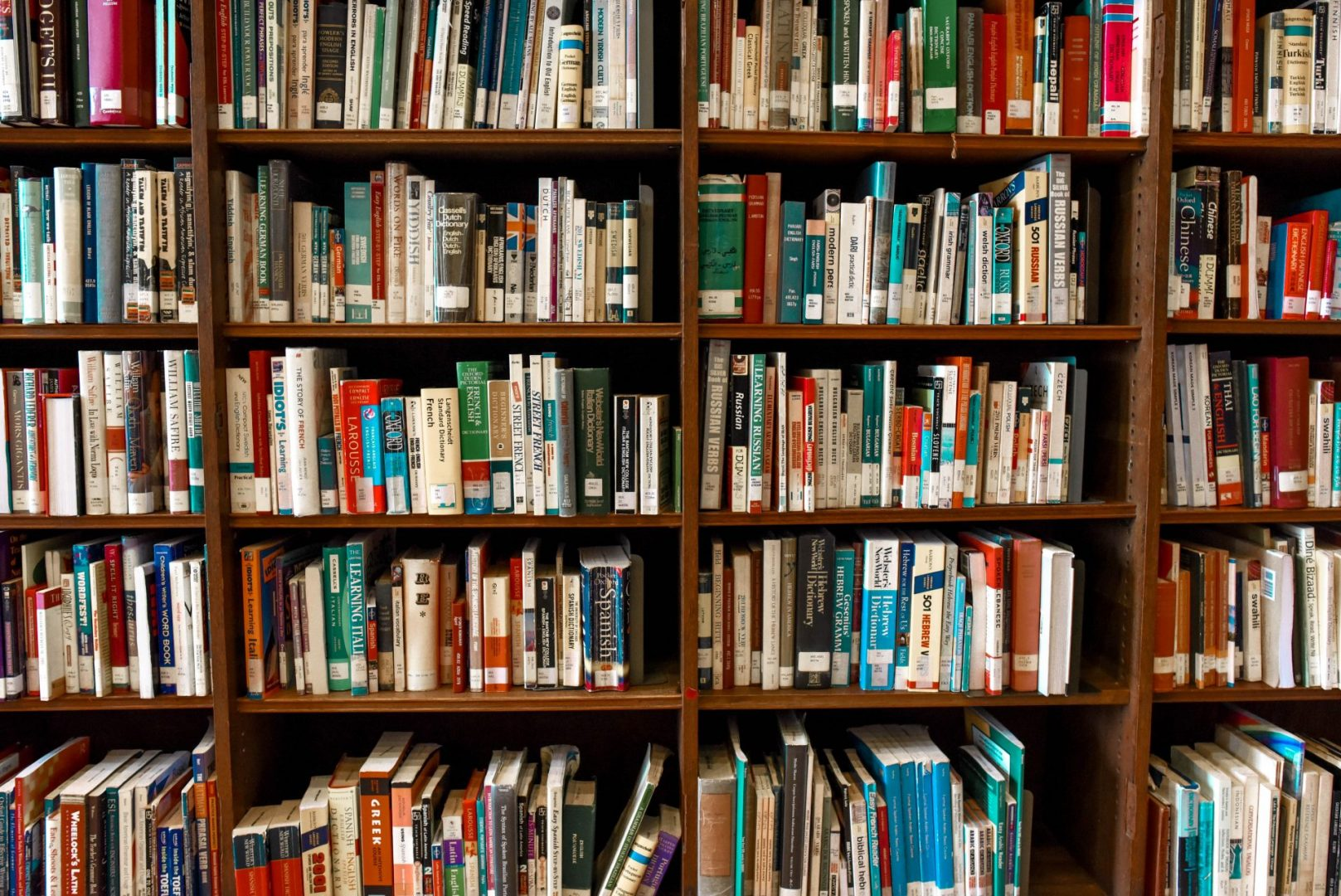 Bibliotheek tijdens de lockdown