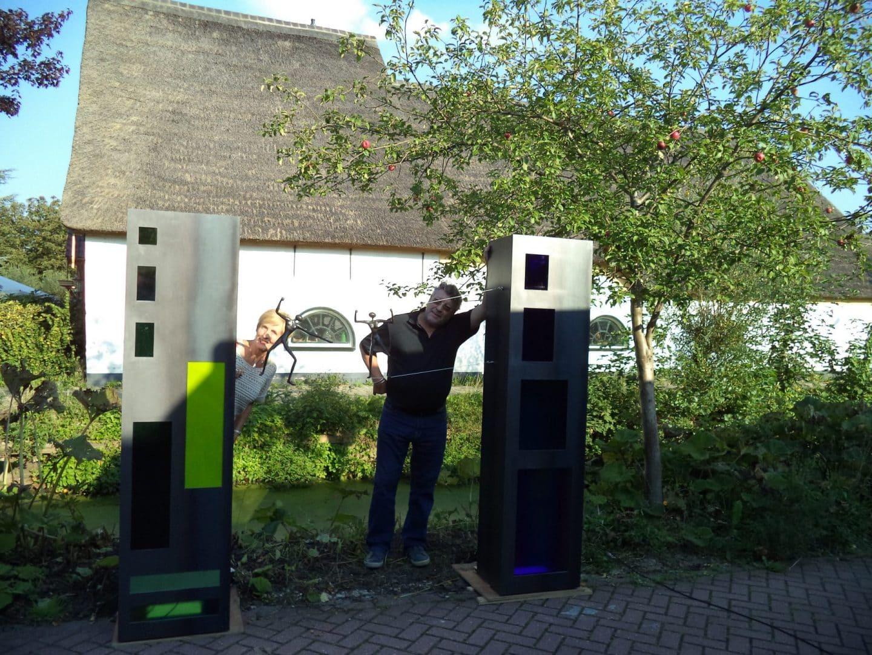 Geschikte ruimte gezocht voor kunstwerk 'Pompen of Verzuipen'