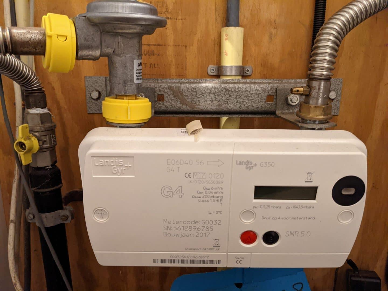 Geen kosten voor verwijderen gasaansluiting