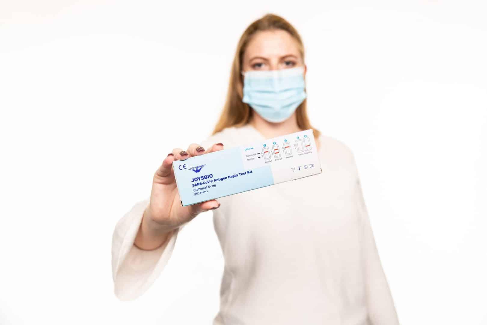 Groene Hart Ziekenhuis en GGD Hollands-Midden doen studie sneltest