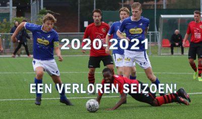 2020-2021 voor amateurcompetities weer verloren seizoen