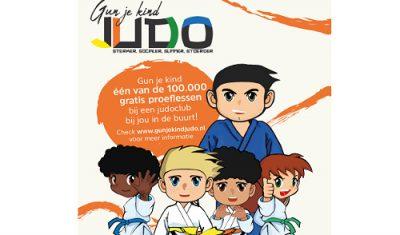 Judo Bond Nederland en Chikara Sport geven gratis judolessen weg