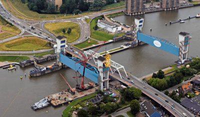 Nieuwe trommels voor de Hollandsche IJsselkering