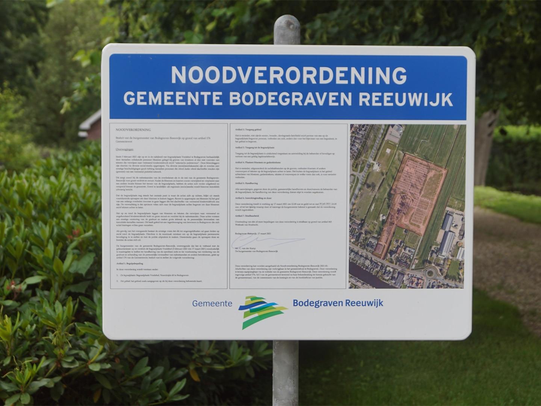 Noodverordening begraafplaats Vredehof verlengd tot en met 30 juli 2021