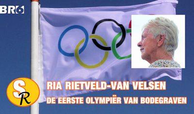 In Sport Report: Ria Rietveld-van Velsen de eerste olympiër van Bodegraven (video)