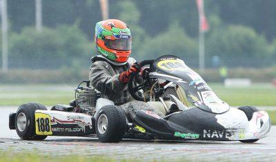 Tristan Kroone tweede in GK4 Kart Series