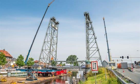 Onderhoud aan hefbrug in Waddinxveen afgerond