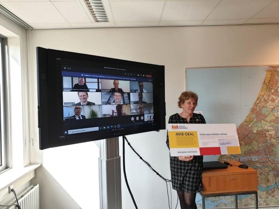 OPBR ontvangt steun via MKB-deal 'Ondernemend Midden-Holland'