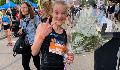 Tirza van der Wolf derde op NK 10 km
