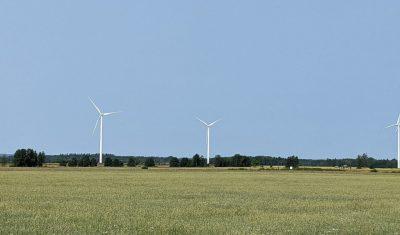 Windturbineplan Woerden valt minder in Bodegraven-Reeuwijk