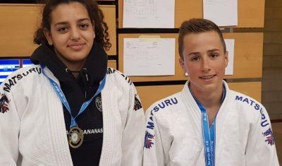 Claudia Kamal Ghatias en Jos van Wensveen naar NK judo -18