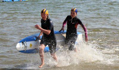 Lifesavers in actie voor het NK Ocean voor aspiranten