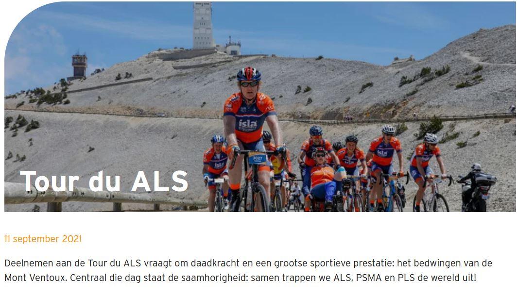 Reeuwijkers op de bres tegen ALS