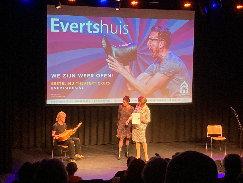 Wervelende preview avond Evertshuis