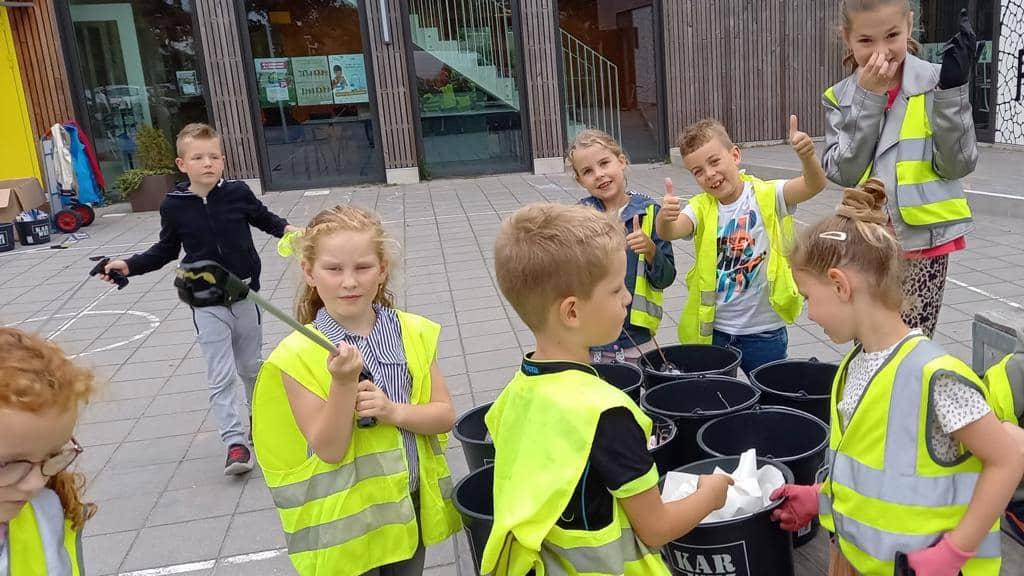 Pr. Beatrixschool deelnemer World Cleanup Day