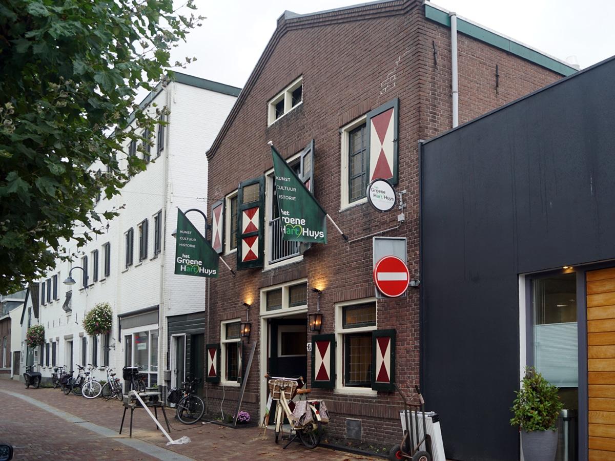 'het Groene HartHuys', centrum voor cultuur, historie en kunst opent zaterdag haar deuren